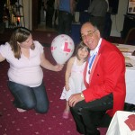 Brian Cox Toastmaster - Entertaining the children at a Wedding