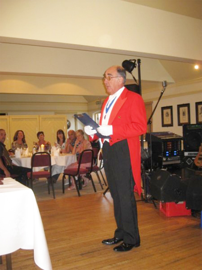 Brian Cox Toastmaster - At the Help for Heroes Charity Auction